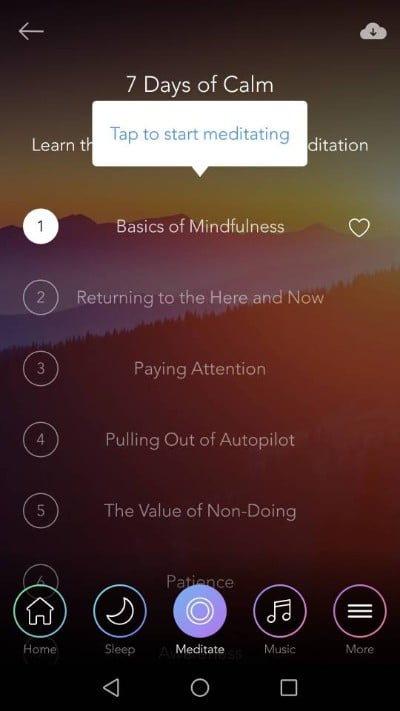 guided meditation for public speaking
