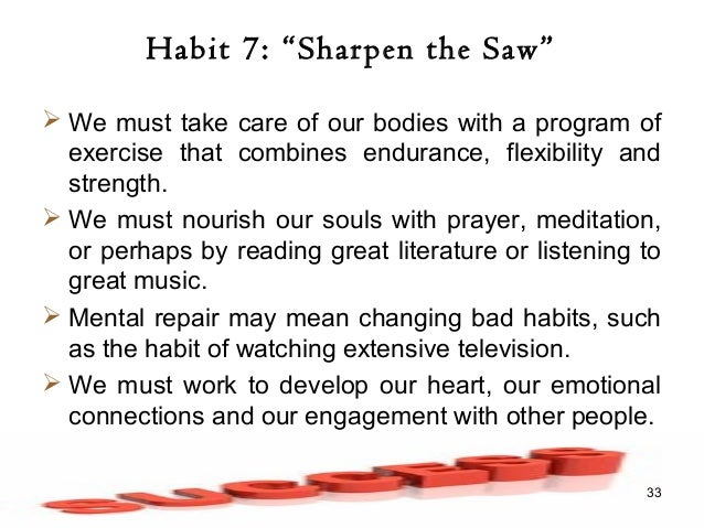 7 habits of highly effective people discussion guide