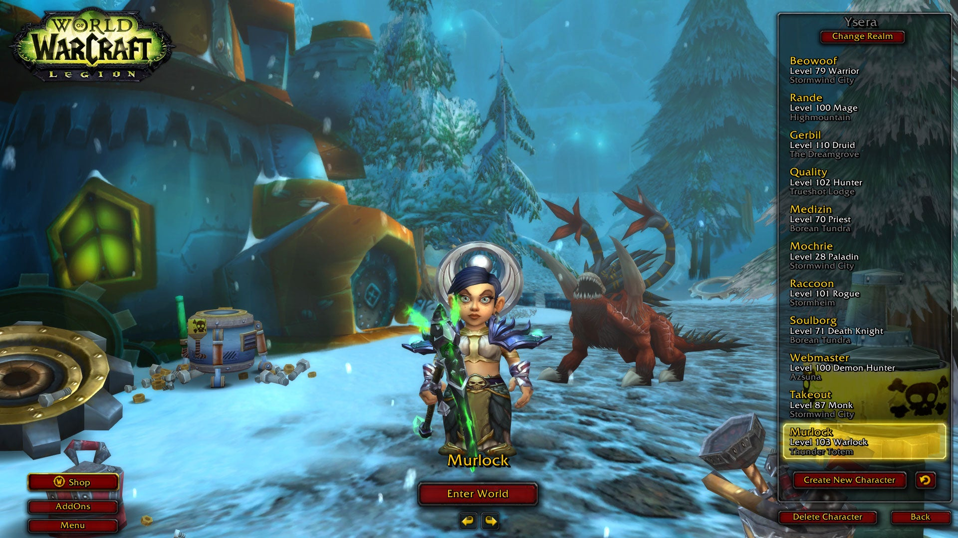 wow legion leveling guide 1 110