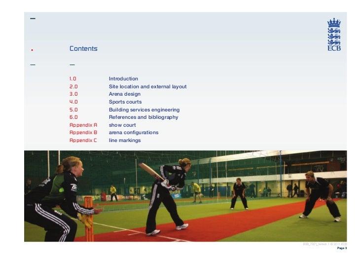 indoor stadium design guide pdf