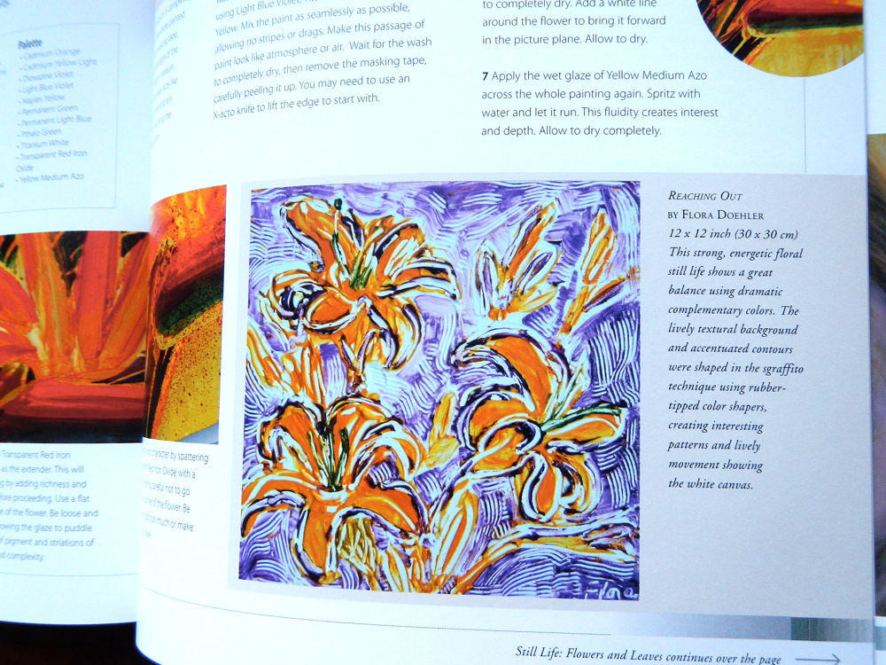 painting in acrylics the indispensable guide
