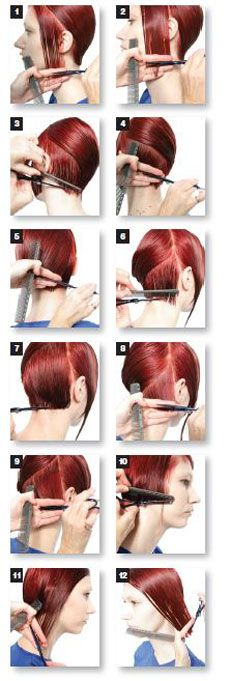 hair cutting step by step guide