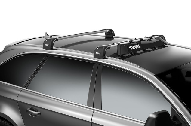 thule roof bars fitting guide