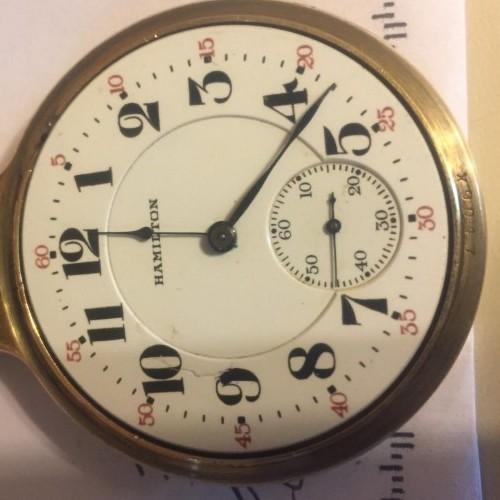 hamilton pocket watch value guide