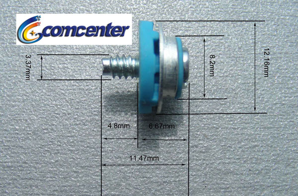 m3 metric isolation mounting guide screws