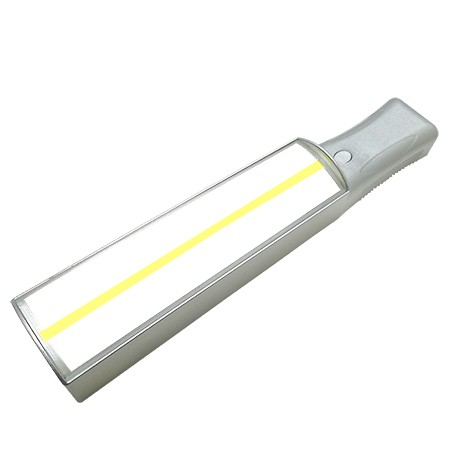 bar magnifier with yellow guiding line