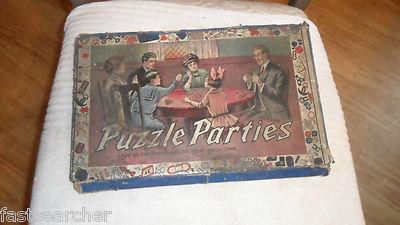 antique board games price guide