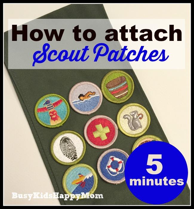 boy scout uniform patches guide