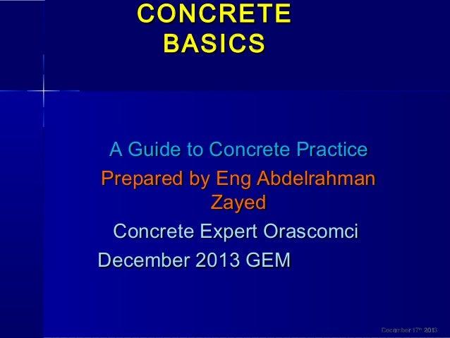 concrete basics a guide to concrete practice
