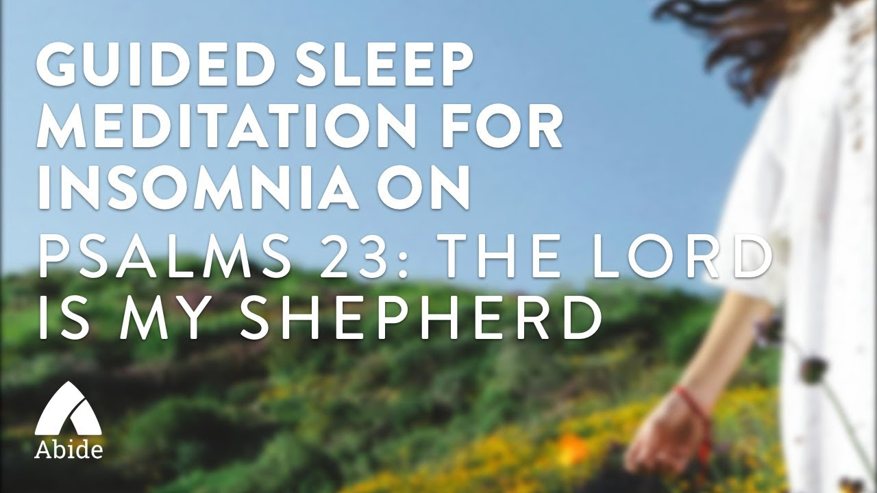guided sleep meditation for insomnia