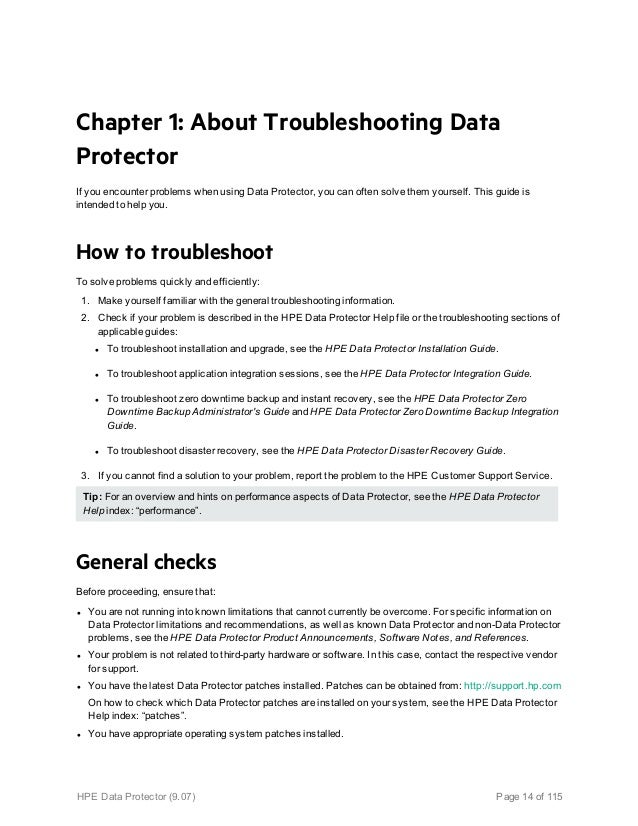 hp data protector 9 installation guide