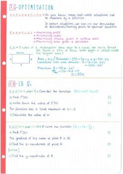 ib math sl study guide pdf
