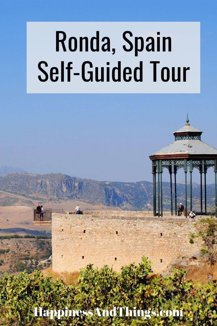 ronda self guided walking tour