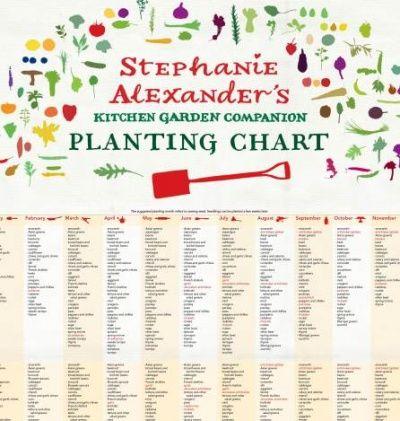 veggie planting guide south australia