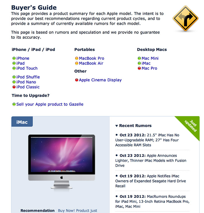 www macrumors com buyers guide